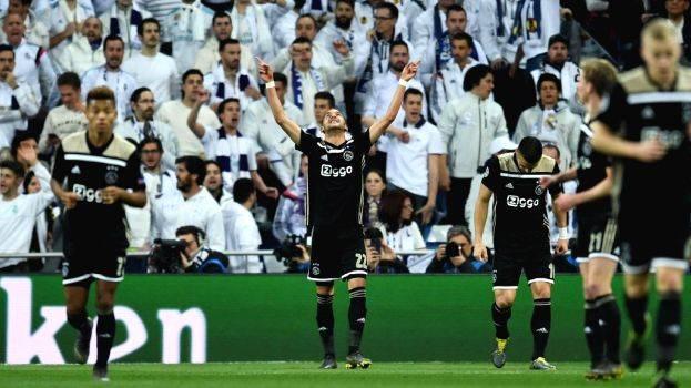 Ajax Vs Madrid: Ajax Stuns Real Madrid With 4-1 Victory